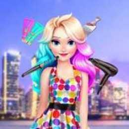 Eliza's Astonishing Neon Hairstyle