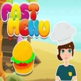 Fast Menu Cooking Game