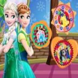 Princesses Cookies Decorating