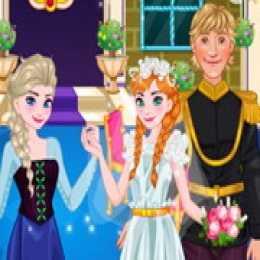 Anna Wedding Cake Decor