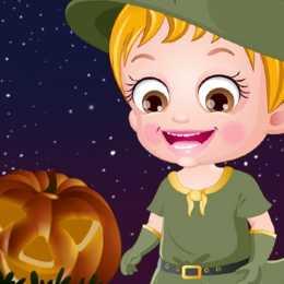 Baby Hazel Halloween Night