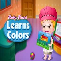 Baby Hazel Learn Colors