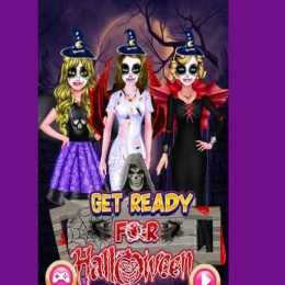 Get Ready For Halloween Party
