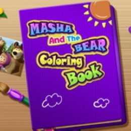 Masha And The Bear Coloring