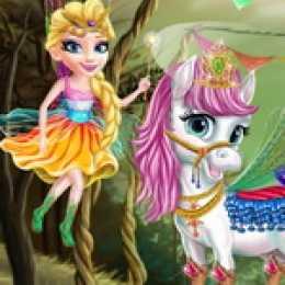 Princess Fairytale Pony Grooming