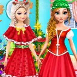 Princesses Christmas Party