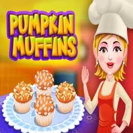 Pumpkin Muffins Cooking
