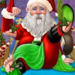 Save Injured Santa And Christmas Elk