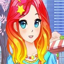 Anime Kawaii School Girls Dress Up