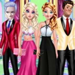 Frozen Family Dress Up