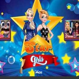 Star Girls Dress Up