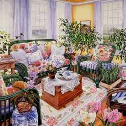 Sweet Romantic Room Slide Puzzle