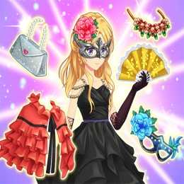 Cute Anime Princess Dress Up