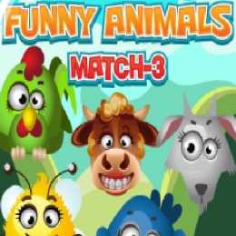 Funny Animals Match 3