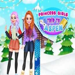 Princess Girls Trip To Aspen