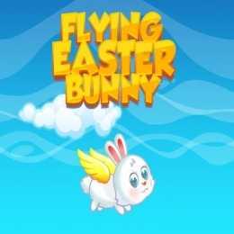 Flying Easter Bunny
