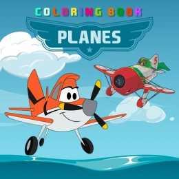 Disney Planes Coloring Book