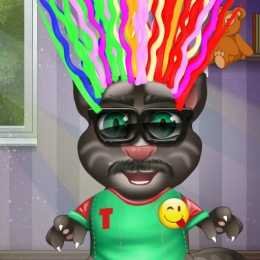 Baby Talking Tom Hair Salon.IO