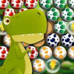 Egg Shooter Bubble Dinosaur