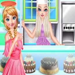 Frozen Cake Shop Cool Summer