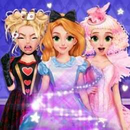 Blonde Princess Wonderland Spell Factory