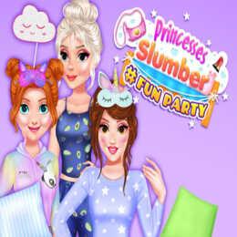 Princesses Slumber #Fun Party