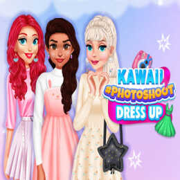 Kawaii Photoshoot Dress Up