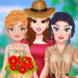 Princesses Cottagecore Dress Up